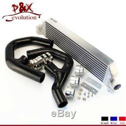 For VW Golf MK5 MK6 GTI FSI Jetta 2.0T A3 06-09 Turbo Twin Intercooler kit Black