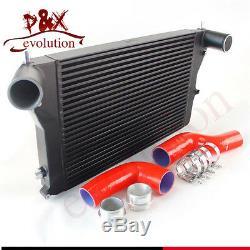 For Vw Golf GTI 06-10 2.0T MK5 Gen2 (VERSION 2) FMIC Turbo Intercooler Kit Red