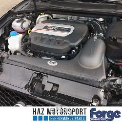 Forge Carbon Fibre Intake Induction Kit Audi S3 8V VW Golf Mk7 R/GTI Black Hose