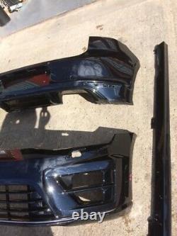 Genuine Vw Golf Mk7 Gti Gtd R Line Complete Front Bumper Body Kit