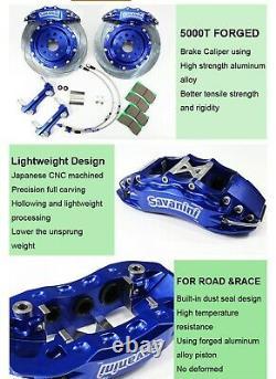 HUGE! 380mm Racing Big Brake Kit for Golf R GTI / Seat Leon Cupra 2014+ AP Bremb
