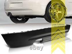 Heckansatz Heckspoiler Diffusor für VW Golf 5 für GT GTI Optik