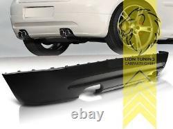 Heckansatz Heckspoiler Diffusor für VW Golf 5 für GT GTI Optik DUPLEX