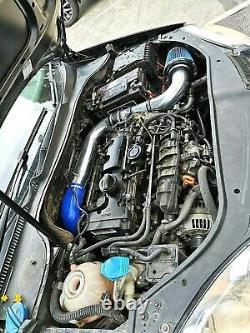High Flow Cold Air Intake Kit For VW JETTA GOLF R GTI MK5 2.0TFSI EA113