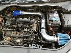 High Flow Cold Air Intake Kit For Vw Jetta Golf R Gti Mk5 2.0tfsi