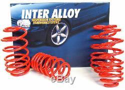 Inter Alloy VW Golf mk4 lowering springs -35mm spring kit 1.8GTi hatch 1997-2005