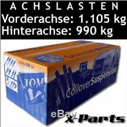 JOM Gewindefahrwerk VW Golf 5 Typ 1K inkl. GTI und Plus
