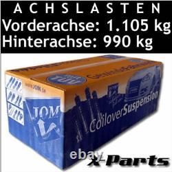 JOM Gewindefahrwerk VW Golf 6 Typ 1K inkl. GTI und Plus