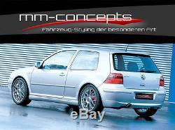 Jubi Bodykit VW Golf 4 IV GTI 25 Frontspoiler Schweller Heckansatz Dachspoiler