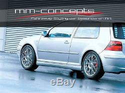 Jubi Bodykit für VW Golf 4 IV GTI 25 Frontspoiler Schweller Heckansatz Seiten