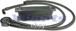 Kit radiatore olio 16 file incl. Raccordo VW Golf 1 2 3 4 5 6 GTI 16V G60 TURBO