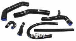 MK2 GOLF Samco Coolant Hose kit in Black, MK2 Golf 1.8 GTI 16V