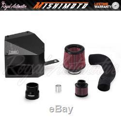 Mishimoto VW Golf R GTI MK7 Performance Cold Air Intake Filter Induction Kit BLK