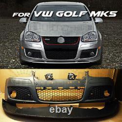 NEW VW Golf MK5 GTI STYLE Front Bumper 2004 2009 GTI V UK STOCK