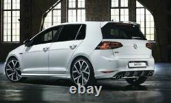 New Genuine VW OEM Vortex Golf GTI Rear Bumper Diffuser 2015-2017 Oettinger kit