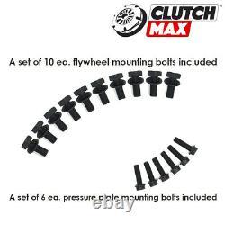 OEM HD CLUTCH KIT+LIGHTENED FLYWHEEL for 94-02 VW MK3 GOLF GTI JETTA 2.8L VR6