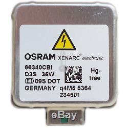 OSRAM D3S 66340CBI Xenarc CoolBlue Intense Xenon Scheinwerfer Lampe NEU DE