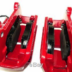 Original Bremssättel vorn Audi A3 S3 8V S Line Bremse 340mm rot Bremsanlage NEU