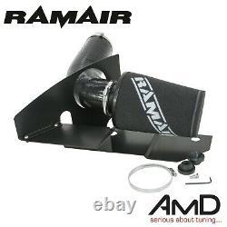 RAMAIR Golf MK6 GTi Induction kit & Heat Shield EA888 Air Filter Kit Black Hose