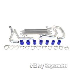 REV9 Aluminum FMIC Front Mount Intercooler Kit for Golf GTi Jetta MK4 1.8T Turbo