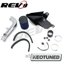 REV9 SHORT RAM AIR INTAKE KIT With HEAT SHIELD FOR VW GOLF 1.8L / GTI 2.0L 15-17
