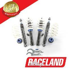 Raceland Primo Adjustable Damping Coilovers Suspension Kit Vw Golf Mk6 Gti 2.0