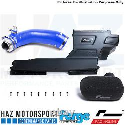 Racingline R600 Induction Intake Kit Forge Turbo Elbow Inlet Hose Mk7 R/GTI BLUE