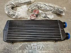 Rd70 Black Front Mount Intercooler Fmic Kit For Volkswagen Vw Golf Mk4 1.8t Gti
