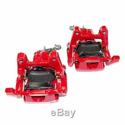 Rear brake calipers pair 310mm VW Golf Mk5 Mk6 GTI Scirocco R Audi A3 8P S3 RS3