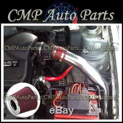 Red 1999-2005 Vw Golf Jetta 1.8l 2.0l Gl/gls/gti Cold Air Intake Kit