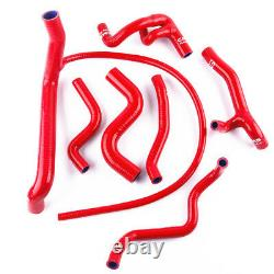 Red Silicone Radiator Water Hose Kit for VW Golf GTi MK3 2.0 8V 2E 115PS 92-97