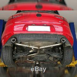 Rev9 Catback Straight Pipe Exhaust Kit For Vw Golf Gti 18-20 Turbo 2.0l Mk7.5