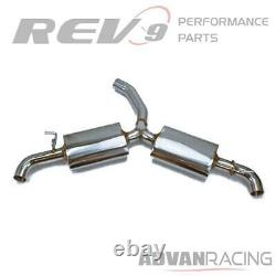 Rev9 Stainless Cat-back Sport Muffler Exhaust Kit fits Volkswagen GTI MK6 09