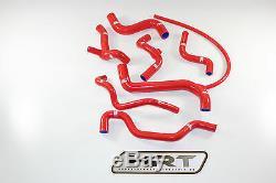 Samco Kühlwasser Silikonschlauchkit VW Golf 3 GTI 2,0L 16V 150PS ABF Rot