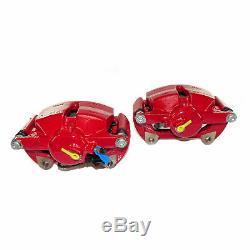 Seat Leon Cupra 5F Bremssättel gelochte Bremsscheiben 340mm VA 310mm HA Bremse