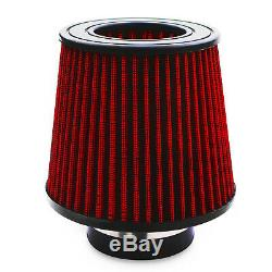Short Intake Alloy Air Filter Induction Kit For Vw Golf Mk5 1.9 2.0 Tdi Fsi Gti