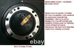 Snap off steering wheel and boss kit hub FITS VW classic beetle Golf GTI mk1