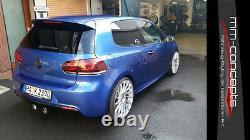 Stoßstangen kit für VW Golf 6 VI R 20 Bodykit Front Heck Seite Tagfahrlicht GTI