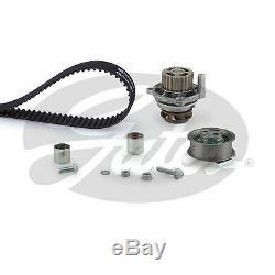 Timing Belt & Water Pump Kit fits VOLKSWAGEN GOLF Gti 1K 2.0 04 to 09 Set Gates