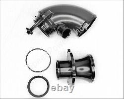 Turbo Inlet Elbow Pipe + Muffler Kit For Audi A3 VW MK7 Golf GTI 1.8T 2.0T