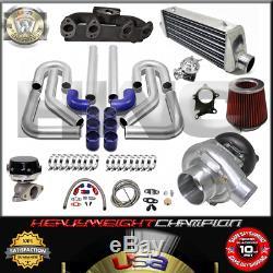 Turbo Kit T3/T4 for VOLKSWAGEN GOLF GTI JETTA MK3/4 2.0 IC PK WG BOV Manifold BL
