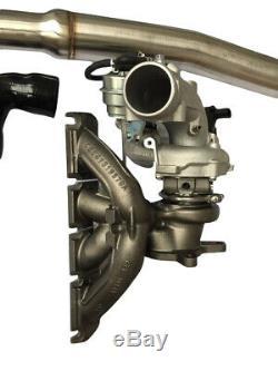 Upgrade K04 Turbo Kit Intercooler Decat Downpipe For Audi A3 Vw Golf Gti 2.0t