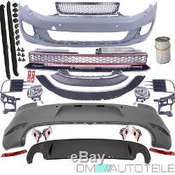 VW GOLF 6 VI Stoßstange Bodykit GTI Optik 08-12 Komplettpaket vorne+Hinten+Seite