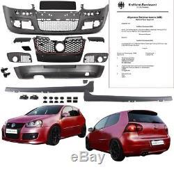 VW Golf 5 V BODYKIT Stoßstangen Set + Schweller + Zubehör für GTI Edition 30+ABE