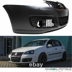 VW Golf 5 V Pare-choc AVANT complet +KIT Feux anti-brouillard GTI Smoke + VIS