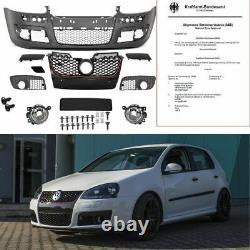 VW Golf 5 V Stoßstange vorne inkl. MONTAGEKIT+Nebel SET GTI ABS+ABE GUTACHTEN