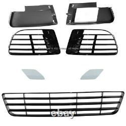 VW Golf GTI 2010 2011 2012 2013 2014 MK6 VI R20 Style Front Bumper Cover Kit