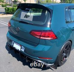 VW Golf GTI MK7 Rear Diffuser 2013-2016 Rear Spoiler Body Kit UK SELLER