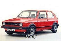 VW Golf MK1 Jetta Rabbit Caddy GTI GTD Euro Headlight H4 conversion Kit