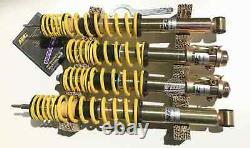 VW Golf MK3 GTI VR6 KW ST X Coilovers Performance Suspension Coilover Kit TUV